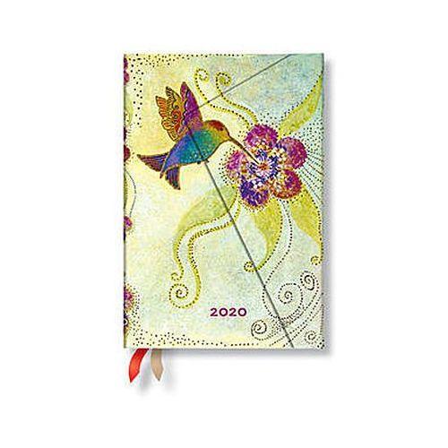 Kalendarz 2020 mini horizontal hummingbird 12m marki Paperblanks