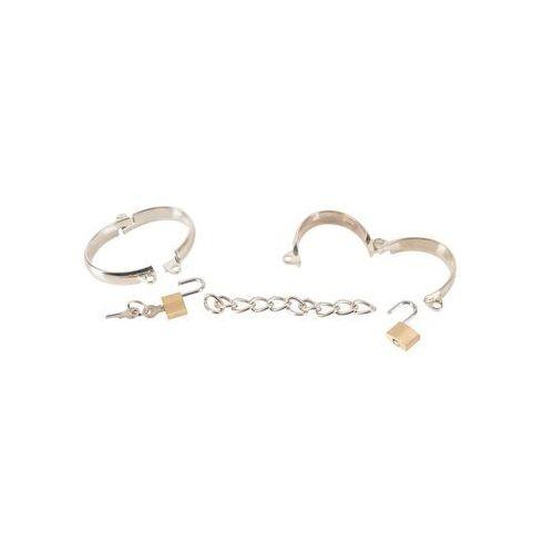 Bad kitty Metalowe kajdanki do zniewolenia oryginalny wygląd | 100% dyskrecji | bezpieczne zakupy (4024144349845)