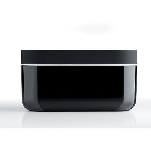 Lekue - foremka do lodu i pudełko ice box, czarne