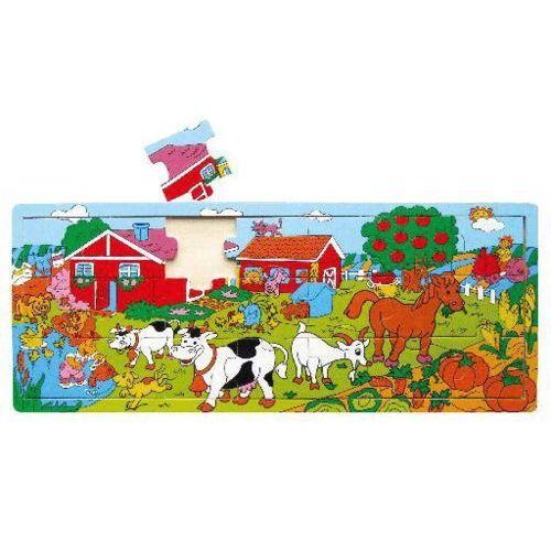 planszowe puzzle farma – 21 elementów od producenta Studo wood