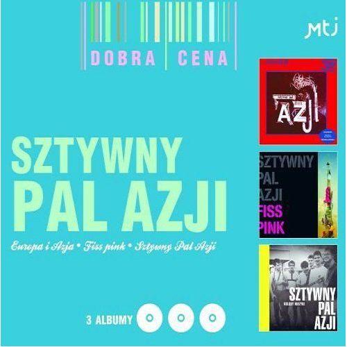 Sztywny pal azji - europa i azja/fiss pink/kolory muzyki [3cd] marki Mtj