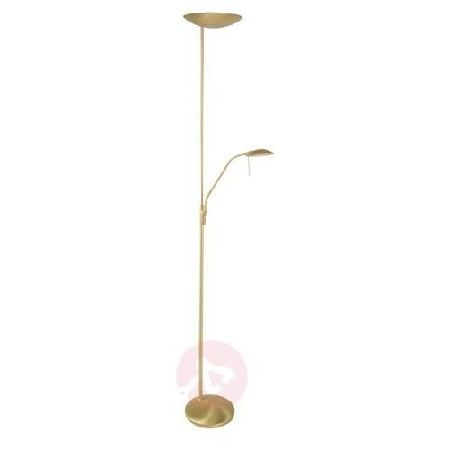 Steinhauer tamara lampa stojąca led mosiądz, 1-punktowy - nowoczesny - obszar wewnętrzny - tamara - czas dostawy: od 6-10 dni roboczych (8712746100761)