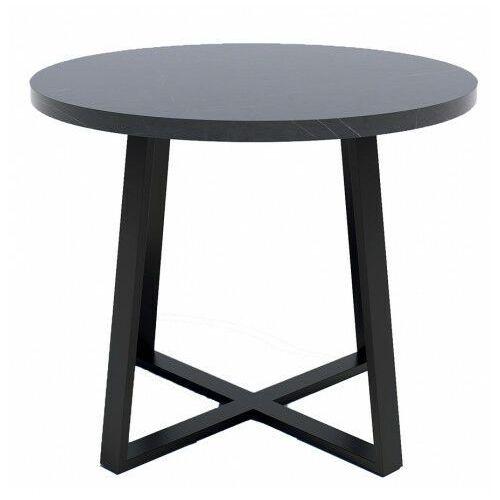 Producent: elior Stół okrągły z blatem wytrawny szary kamień - jens