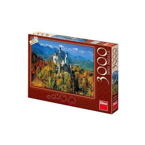 Neuveden Neuschwanstein na podzim - puzzle 3000 dílků