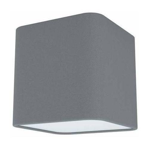 Eglo Posaderra 99299 plafon lampa sufitowa 1x28W E27 szary/biały