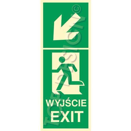 Top design Kierunek do wyjścia w lewo w dół lewostronny / left and down to exit left side