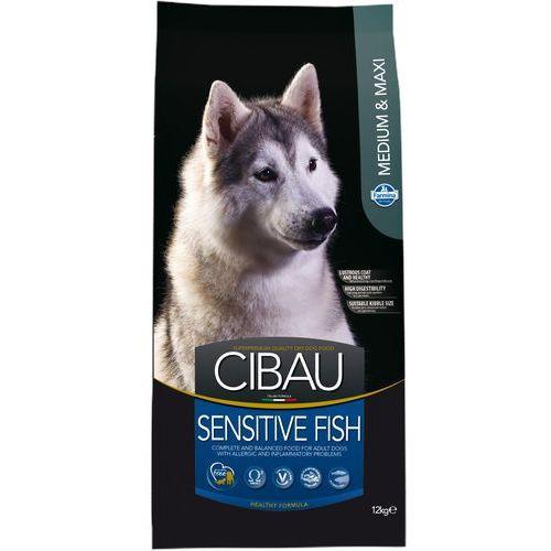 Farmina cibau adult medium/maxi sensitive fish 12kg+2kg gratis (8010276031037)