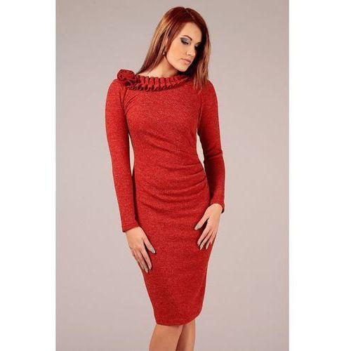 Sukienka sara czerwony marki Vera fashion