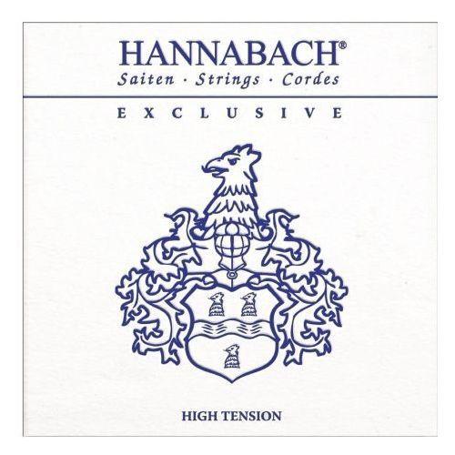 Hannabach (652748) Exclusive struny do gitary klasycznej (heavy) - Komplet 3 strun basowych