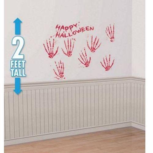 Dekoracja na ścianę Krwawe dłonie (0048419181880)