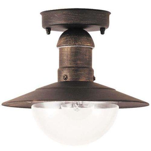 Rabalux Plafon zewnętrzny lampa sufitowa oslo 1x60w e27 ip44 antyczne złoto 8736 (5998250387369)
