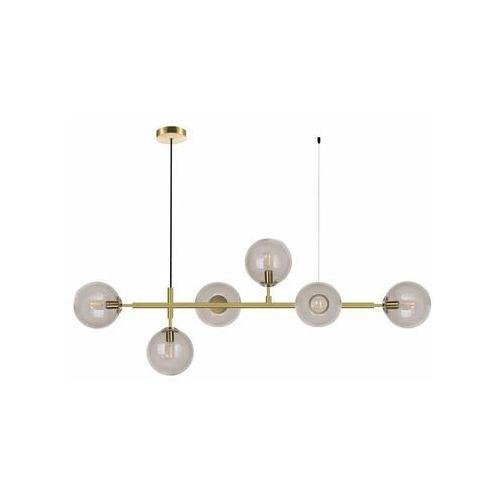 Light prestige Lampa wisząca alisa złoty 6 x e14