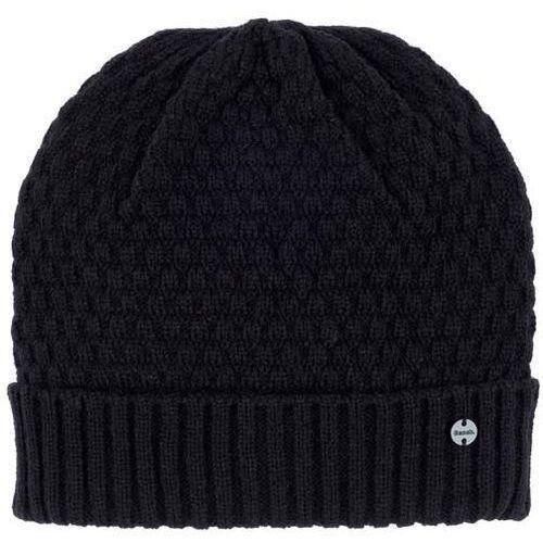 czapka zimowa BENCH - Interest Turn Up Beanie Black Beauty (BK11179) rozmiar: OS, kolor czarny