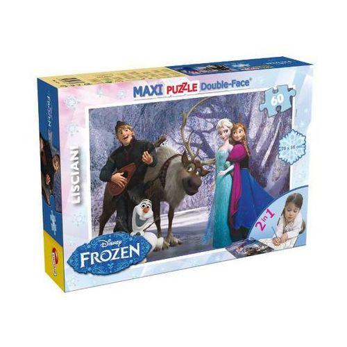 Liscianigiochi Frozen puzzle dwustronne maxi 60 (46874)