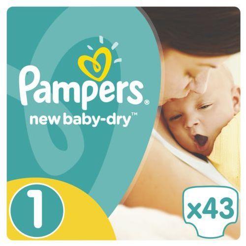 PAMPERS New Baby-Dry pieluchy 1 Newborn 43szt pieluszki. Najniższe ceny, najlepsze promocje w sklepach, opinie.