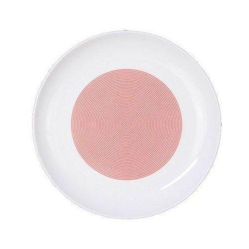 Cmielow design studio Talerz płaski 22 cm new atelier mix & match czerwony (5903353469249)