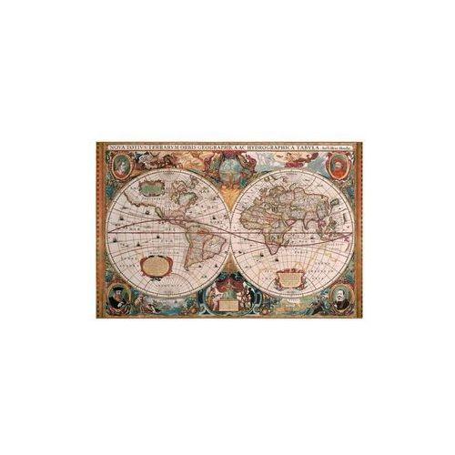 Ravensburger Raven puzzle antyczna mapa świata