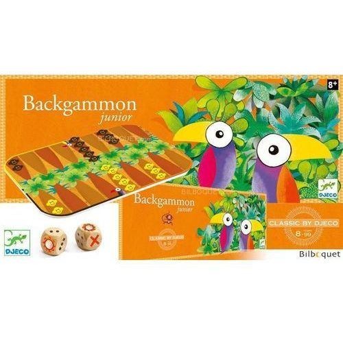 Gra backgammon marki Djeco