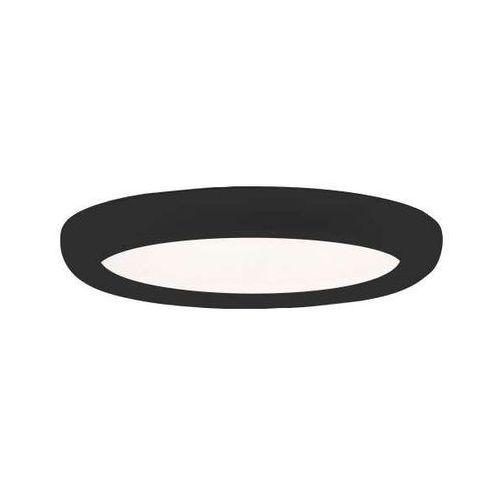 Shilo Plafon lampa natynkowa gifu 1206/led/cz sufitowa oprawa okrągła led 24,8w metalowa czarna (1000000562392)