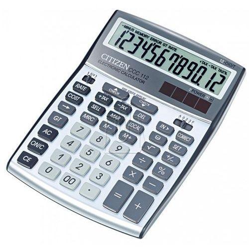 Kalkulator CITIZEN CCC-112 Srebrny, 28596