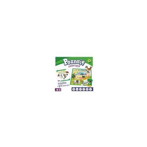 Zielona sowa Poznaję zwierzęta. zestaw edukacyjny - gra planszowa + książka z ćwiczeniami