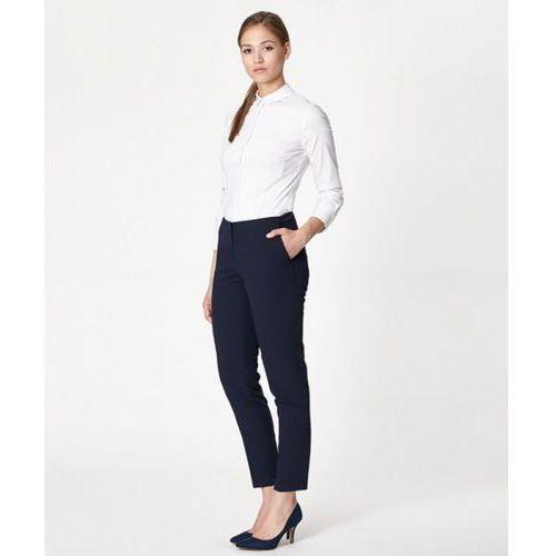 Spodnie damskie model slavia 17221 navy marki Click fashion