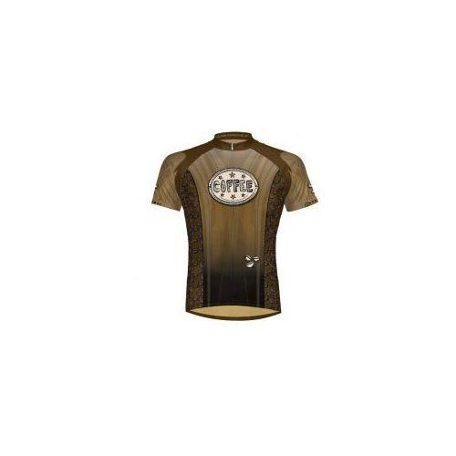 Primal Super cena - koszulka rowerowa buzzed - kawa