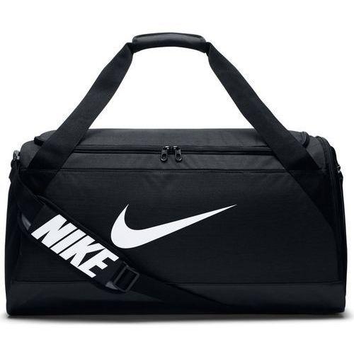 Torba Nike Brasilia Duffel Medium - BA5334-010 - Black/Black/White