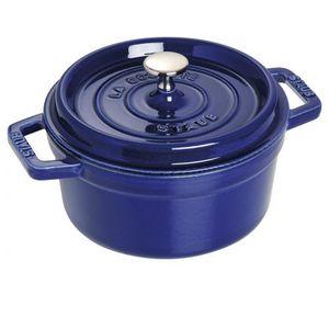 Staub Garnek Żeliwny Cocotte 22 cm Granatowy, kolor niebieski