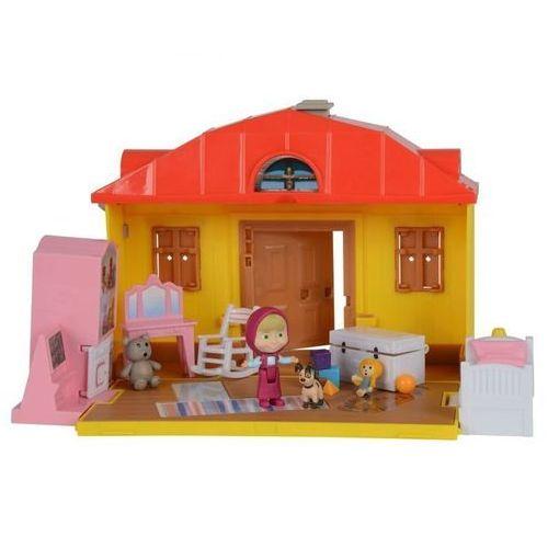 - masza i niedźwiedź - domek maszy + akcesoria marki Simba