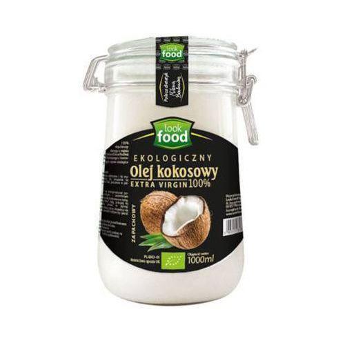 Look food 1l olej kokosowy nierafinowany extra virgin zapachowy bio