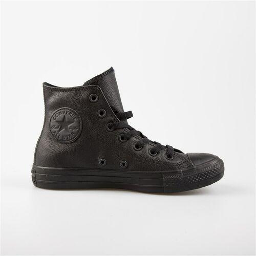 buty CONVERSE - Chuck Taylor All Star Leather Black (BLACK) rozmiar: 35