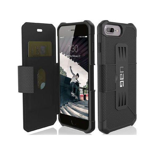 Uag Etui urban armor gear metropolis iphone 6s 7 8 plus black +szkło