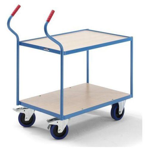 Eurokraft Przemysłowy wózek stołowy,2 piętra