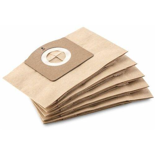 Karcher Papierowe torebki filtracyjne (5 szt.) do wd 1 ( 2.863-297.0), polska dystrybucja!