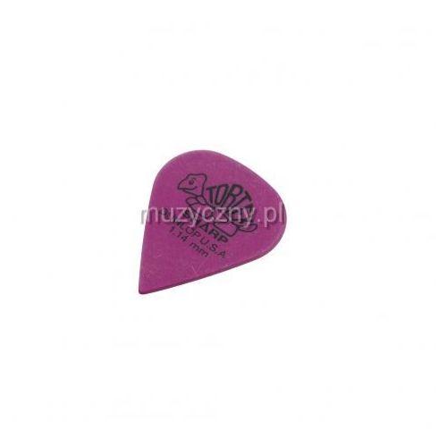 Dunlop 412P Tortex Sharp kostka gitarowa 1.14mm