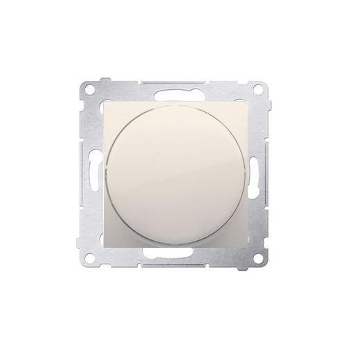 Ściemniacz podtynkowy Kontakt-Simon 54 DS9T.01/41 naciskowo-obrotowy kremowy
