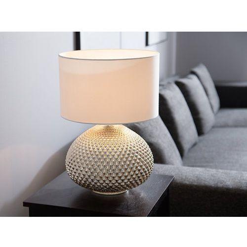 Beliani Lampka stołowa złota madon (4260586353204)