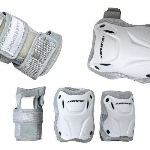 Axer sport Zestaw ochraniaczy a20791 (rozmiar xl) biały