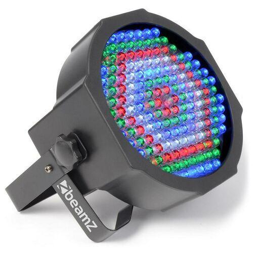 Promiennik FlatPAR Beamz LED 154x 10mm RGBW pilot IR, 151.226