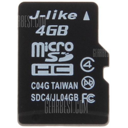 Gearbest J - like high quality c4 4gb micro sdhc/ sd transflash memory card, kategoria: karty pamięci