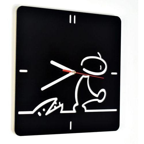 Zegar ścienny akrylowy plexi woodway la linea marki Woodwaycrafts