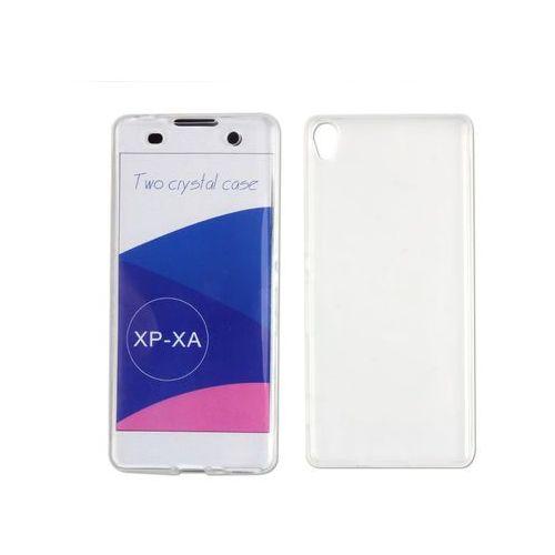 Sony xperia xa - etui na telefon full body slim - przezroczysty marki Etuo full body slim
