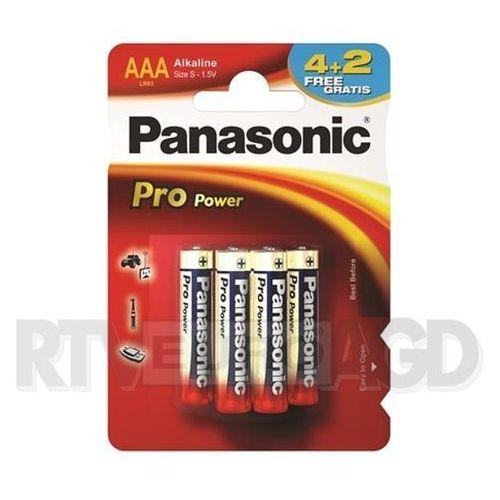 aaa pro power (6 szt.) - produkt w magazynie - szybka wysyłka! marki Panasonic