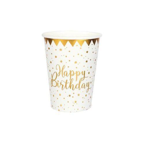 Santex Kubeczki urodzinowe happy birthday - ml - 10 szt. (3660380053699)