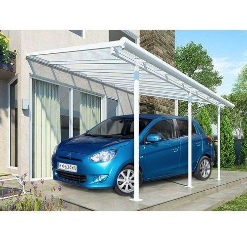 Aluminiowa wiata samochodowa sierra 3 x 4,25 m szara - transport gratis! marki Palram