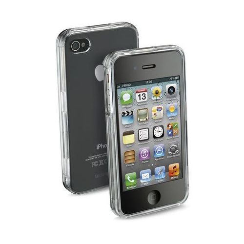 Pokrowiec CELLULAR LINE INVISIBLECIPHONE4 z kategorii Futerały i pokrowce do telefonów