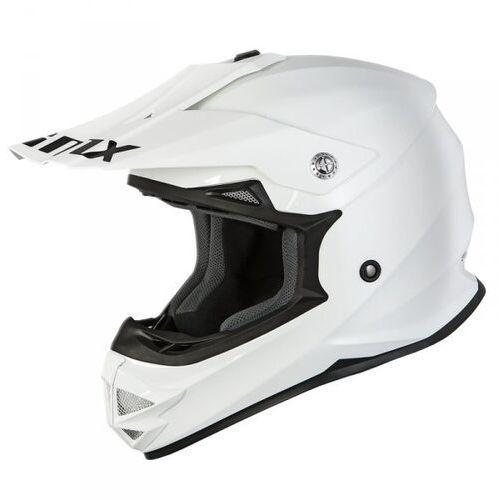 Kask off-road fmx-01 white marki Imx