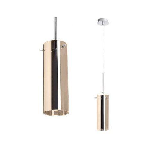 Redlux Miedziana lampa wisząca sanssouci r10511  szklana oprawa zwis tuba miedź (1000000112962)