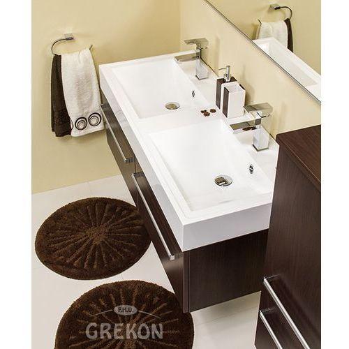 Gante Szafka łazienkowa z umywalką 120/50/2/ufks fokus wenge mat